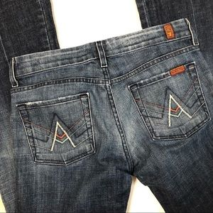 7 For All Mankind | A Pocket Flare Jeans | 29